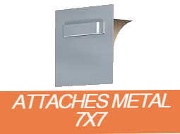 attaches métal